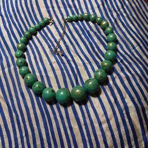 1960's mid century beaded necklace